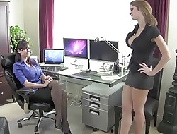 big tits white stockings and black stockings